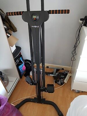 Climbing Fitness Machine Exercise Climber Stepper Cardio Home Workout UK