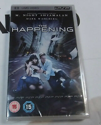 The Happening (New and Sealed) Sony PSP UMD Video Movie