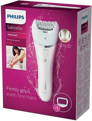 Philips Satinelle Advanced Wet And Dry Epilator BRE610/00