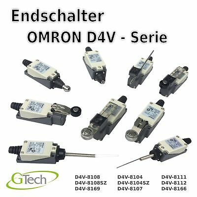 Endschalter OMRON Endlage Grenztaster Positionstaster Limit Switch Schalter