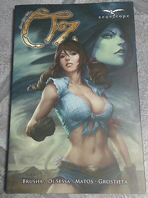 SIGNED Zenescope OZ 1st Print Graphic Novel Paolo Pantalena Nei Ruffino Ula Mos