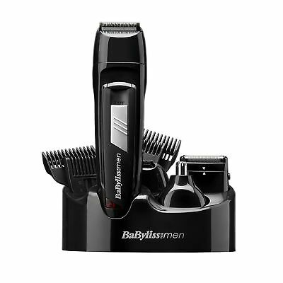 New Babyliss Men 8 IN 1 Grooming Kit Cordless Hair Clipper Beard Trimmer 7056CU