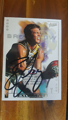 Ben Cousins Brownlow Contender 2002 Spx Silver Select Signed Card