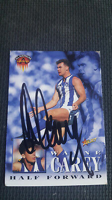 Wayne Carey Select 1995 All Australian  Signed Card
