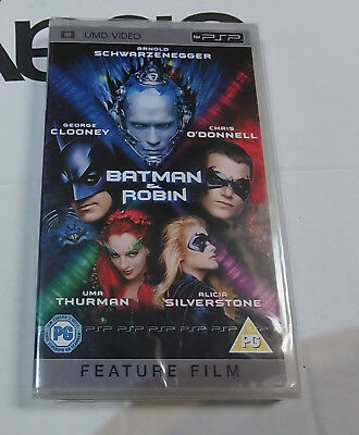 Batman and Robin   (New and Sealed) Sony PSP UMD Video Movie