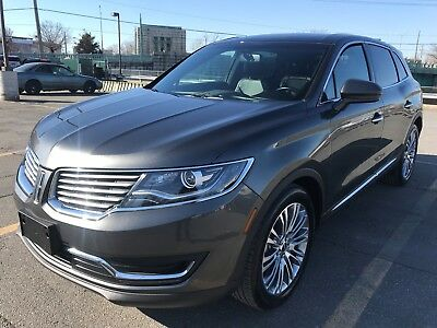 2017 Lincoln MKX Reserve FWD 2017 Lincoln MKX Reserve One Owner Loaded Best Price Online Make An  Offer!!!!!!