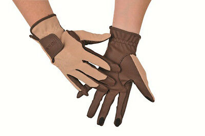 HKM PRO TEAM Riding Gloves With Touchscreen Function