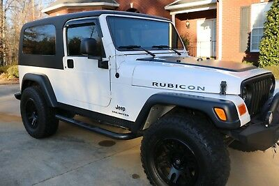 2005 Jeep Wrangler RUBICON UNLIMITED LJ WITH LOW MILES VERY RARE SUPER CLEAN LJ RUBICON  LIFT NEW TIRES ONLY 14,000 Miles