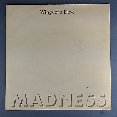 Madness - wings of a Dove - Stiff records BUY-181 ausgezeichneter Zustand