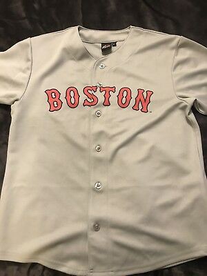 Original Vintage Boston Red Sox Baseball Jersey Shirt majestic athletic
