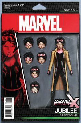 Generation X Issue 1 - Christopher Action Figure Variant Cover - Marvel Comics