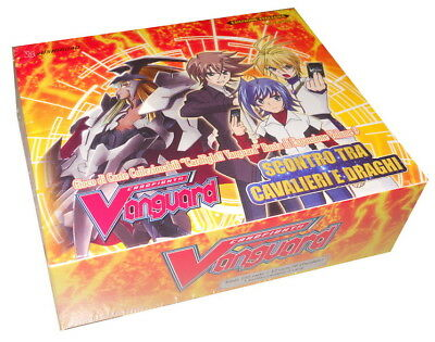 CARDFIGHT VANGUARD: [BT09] 1 BOX SCONTRO TRA CAVALIERI DRAGHI in ITALIANO