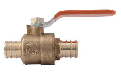 Shark Bite 22462lf 3/4 Barb Pex Ball Valve
