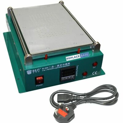 BST-968 LCD Rework Separation Station Heating Plate Vacuum Mobile Phones Tablets