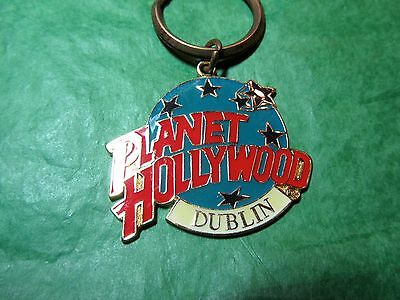 Planet Hollywood Dublin Ireland Travel Souvenir Key Ring (402)