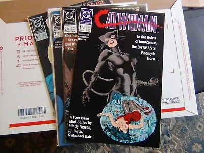 1989 DC Catwoman Full Limited series 1Thru 4