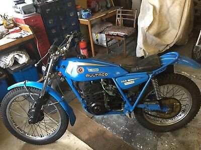 bultaco Trials bike 250.