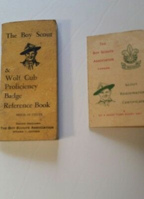 The BOY SCOUT & WOLF CUB Proficiency Badge Reference Book 1940