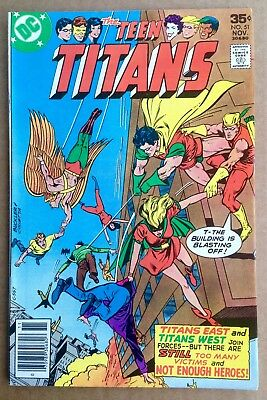 Teen Titans #51 (1977) Titans East Joins Titans West! Nice Copy! PRICED TO SELL!