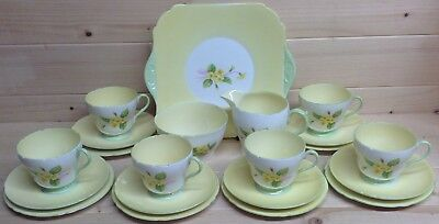 Shelley Primrose 21 Piece Tea Set