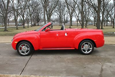 2005 Chevrolet SSR Magnuson Supercharged 640hp Perfect Carfax Extremly Low Miles Magnuson Supercharged 640hp Like New!