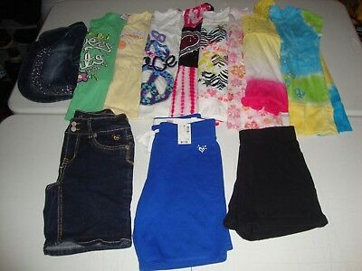 Lot Of Girls Size 12 Justice Brand Clothes Great For Spring Summer