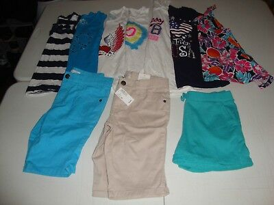 Lot Of Girls Children's Place Clothes Size 10-12 Great For Spring Summer