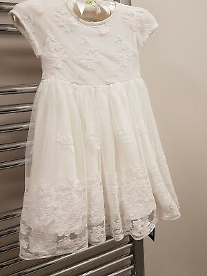 Autograph Baby Girl's Lace Christening Dress. Age 12 -18 Months. Nwt