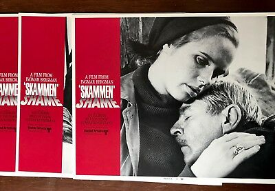 54 Lobby Cards  Liv Ullmann Lot #1 Skammen Emigrants New Land Abdication  ++