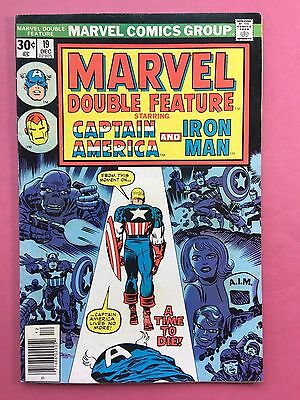 Marvel Double Feature - Captain America, Iron Man - Comics - no.19 dic. FN