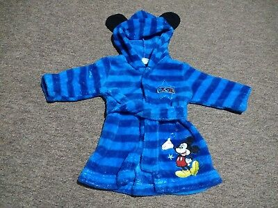 Baby Clothes Mickey Mouse Dressing Gown 3-6months