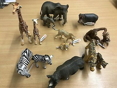 African Animals Mother & Baby Set • 14 Animals • Small World • Early Years