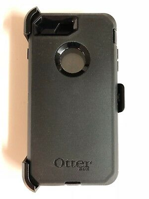 Otterbox Defender Case W/Holster Clip for Apple iPhone 7 Plus & 8 Plus Black