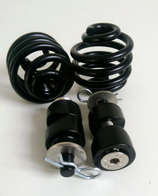 """Solo Seat 2"""" Easy Fit Springs 7/8"""" Bolt on Mounts Harley Bobber Chopper Triumph"""