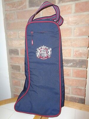 Shires Padded Long boot bag-Boot Carry Bag