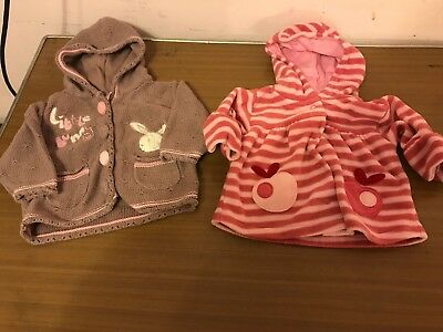 2 Baby Girls Jackets