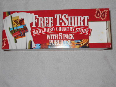 Vintage Marlboro Country Store Rodeo State Fair White Front Pocket T Shirt XL