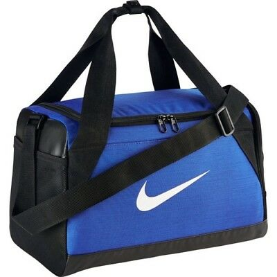 Nike Brasilia Training Sports Bag Gym Bag Fitness Extra small xs Blue Holdall