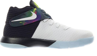 Nike Kyrie 2 GS Shoes Low Black White Purple Volt $100 Parade New Boys Youth 6y