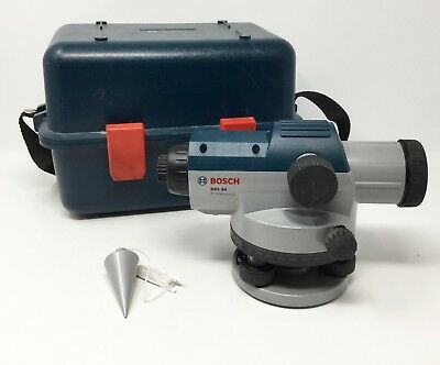 Bosch GOL 24 Professional Automatic Optical Level with TriPod and Case