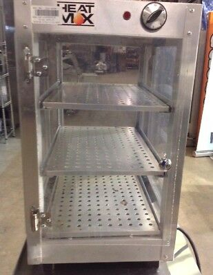HeatMax 14x19x24 Humidified Commercial Food Warmer for Pizza,ROLLS,Pastry