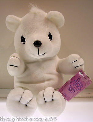 Precious Moments Tender Tails POLAR BEAR 382027 MWMT FREE FIRST CLASS USA SHIP