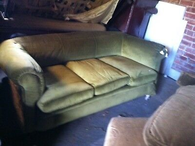 Antique Large Chester Field Sofa
