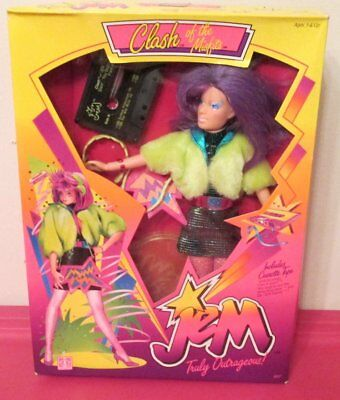 Jem -  Clash of the Misfits doll with Cassette Vintage In Box