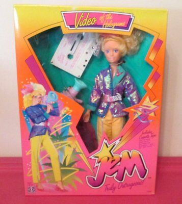 VIDEO doll Jem and the Holograms 1986 Hasbro