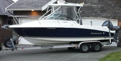2007 Wellcraft 232 Coastal with only 109 hours on the 250 HP engine