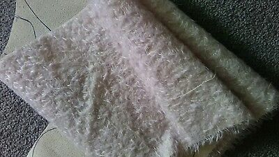 Debs Ted's original design on mohair 21cm x 144cm