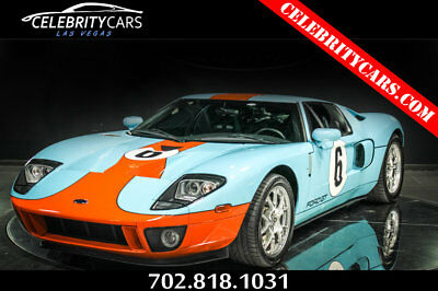2006 Ford Ford GT Heritage Edition 2006 Ford GT Heritage Edition Gulf racing livery 4k miles Low Miles Las Vegas