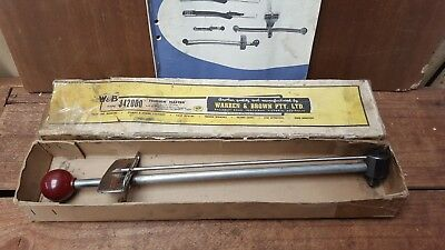 "Vintage Warren & Brown Tension Wrench, 1/2"" square drive, 110-0-110 Made in Aust"