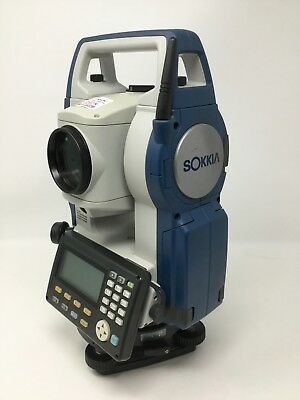 Sokkia CX-105 Total Station 5 Second Reflectorless Bluetooth Dual Screen w/Case